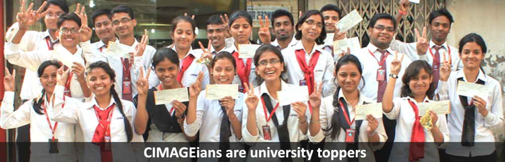 CIMAGEians have been University Toppers.