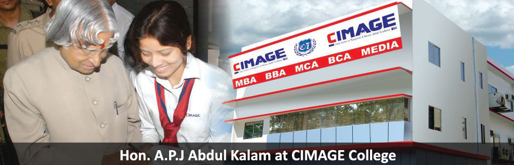H.E. Hon. A.P.J. Abdul Kalam (Ex President of India) during his visit at CIMAGE.