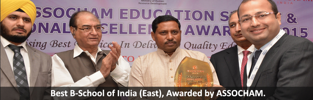CIMAGE College has been awarded as 'The Best B-School of India (East)', by ASSOCHAM. The Award was presented by Hon. State Minister of HRD, Dr. Ram Shankar Katheria to Mr. Neeraj Agrwal - Director - CIMAGE Group of Institutions..