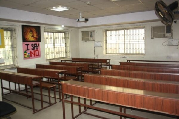 Classrooms equipped with Over Head Projector