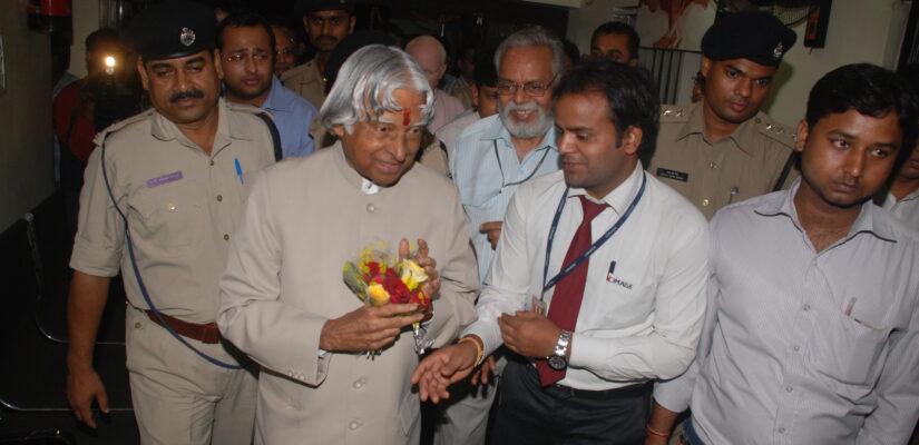 Former President Abdul Kalam at CIMAGE